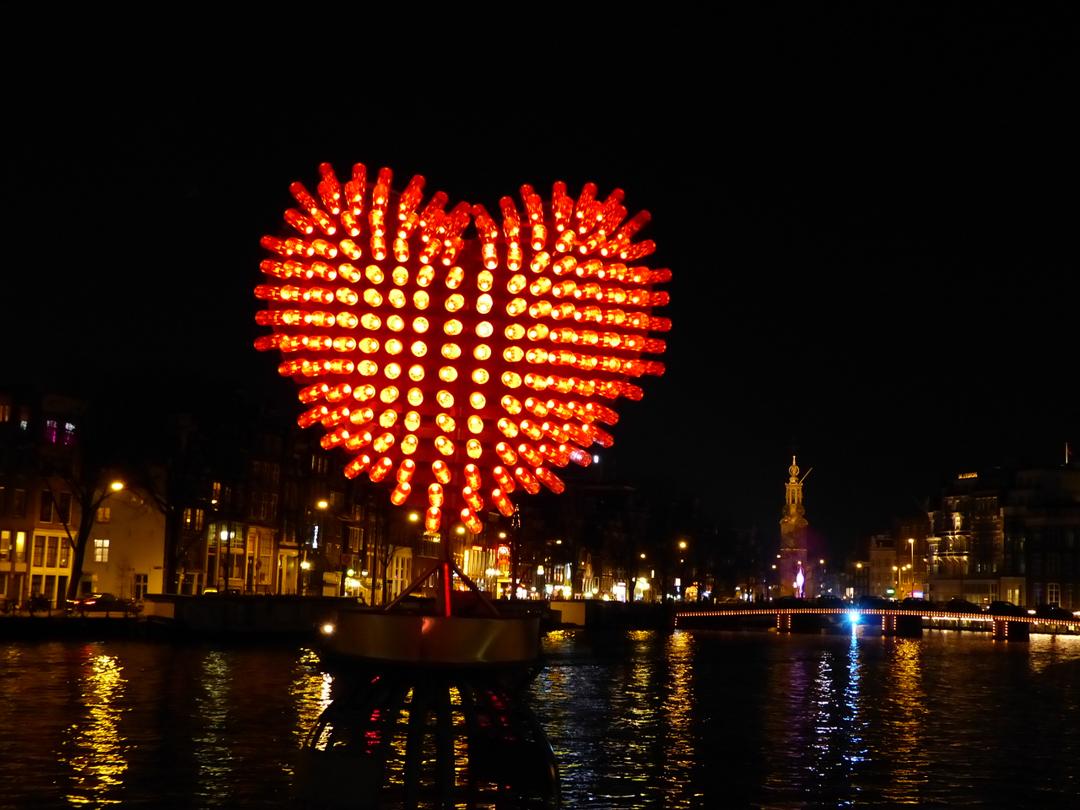 Amsterdam Light Festival Lighting Up The Dark Winter