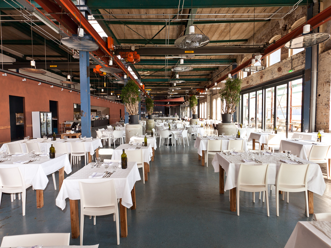 cafe-restaurant stork | sustainable fish along the river ij