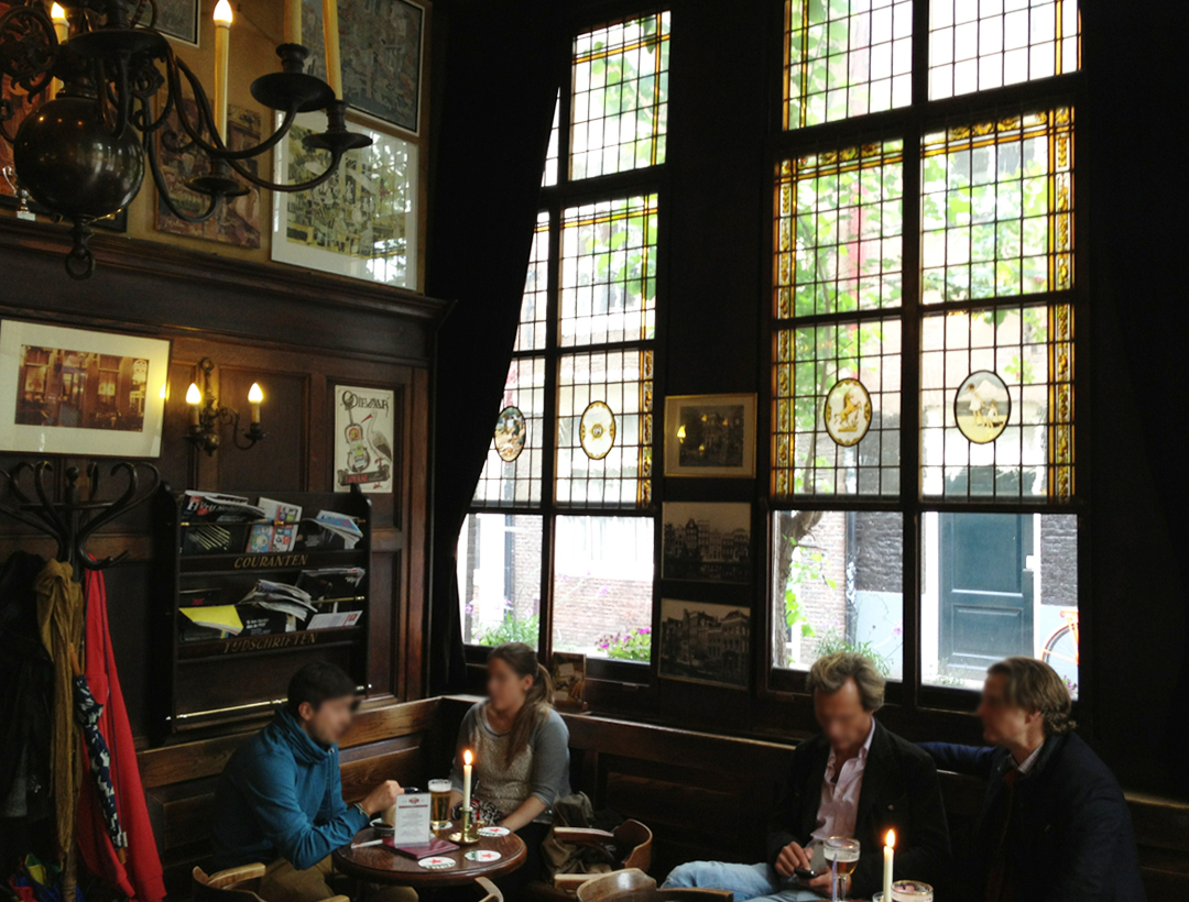 t smalle | traditional authentic amsterdam brown cafe | conscious