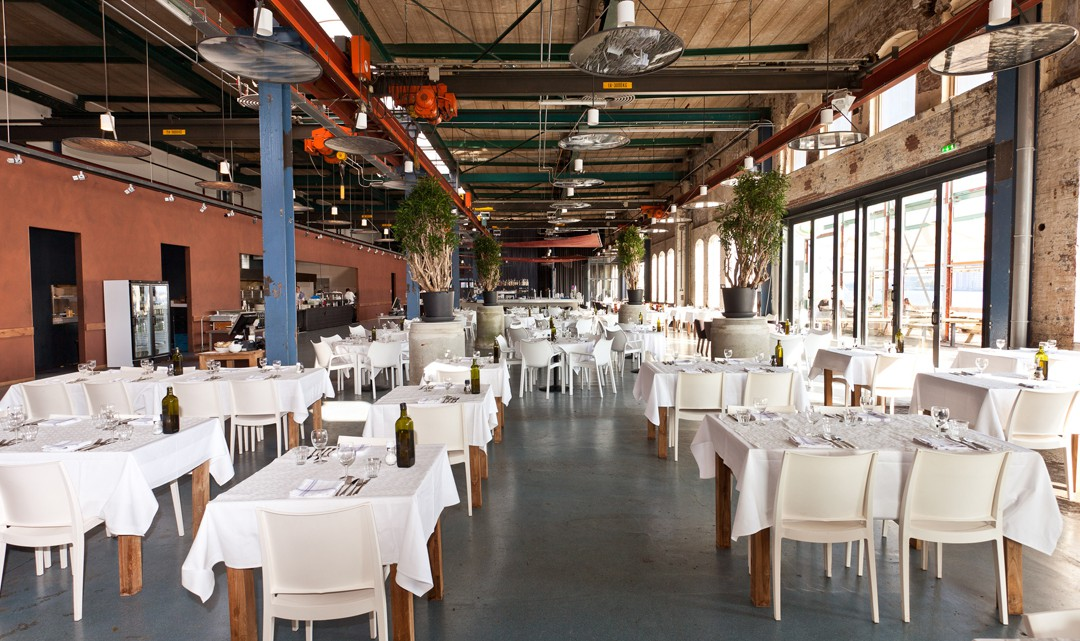 A view inside the restaurant
