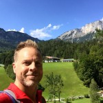 Charles in the Bavarian Alps