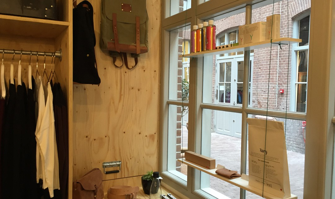 Window dressing with sustainable and fair trade products