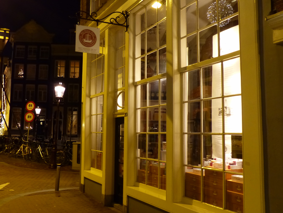 Het hanze huis artisanal products with a history for Amsterdam products
