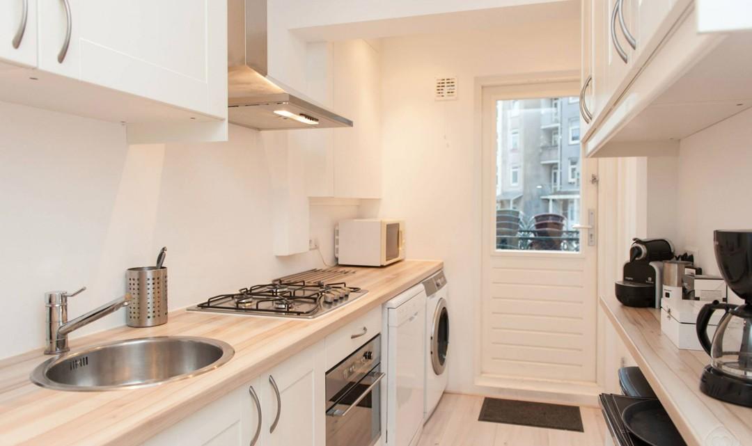 Kitchen and kitchen door