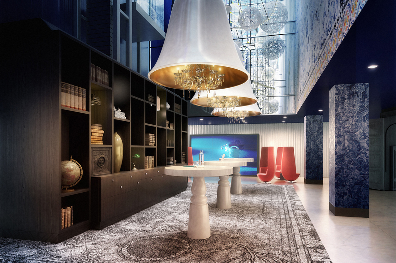 Andaz amsterdam prinsengracht 5 star hotel as hidden gem for Art hotel design