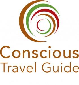 Vertical logo Conscious Travel Guide 500 x 537