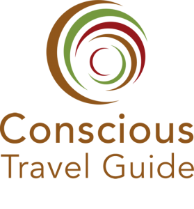 Vertical logo Conscious Travel Guide 500 x 537