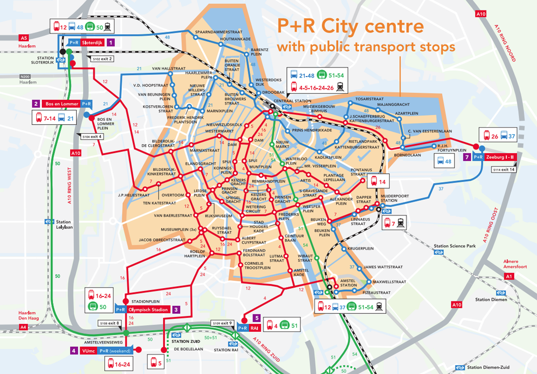 Parking in Amsterdam Conscious Travel Guide