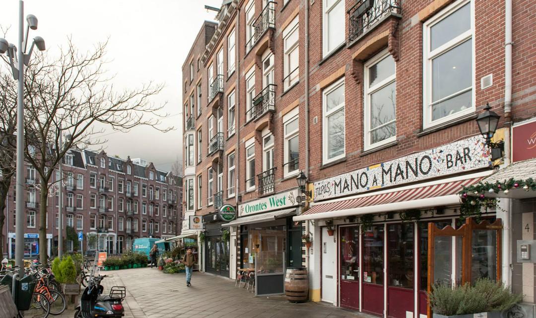 View from the Hugo de Grootplein