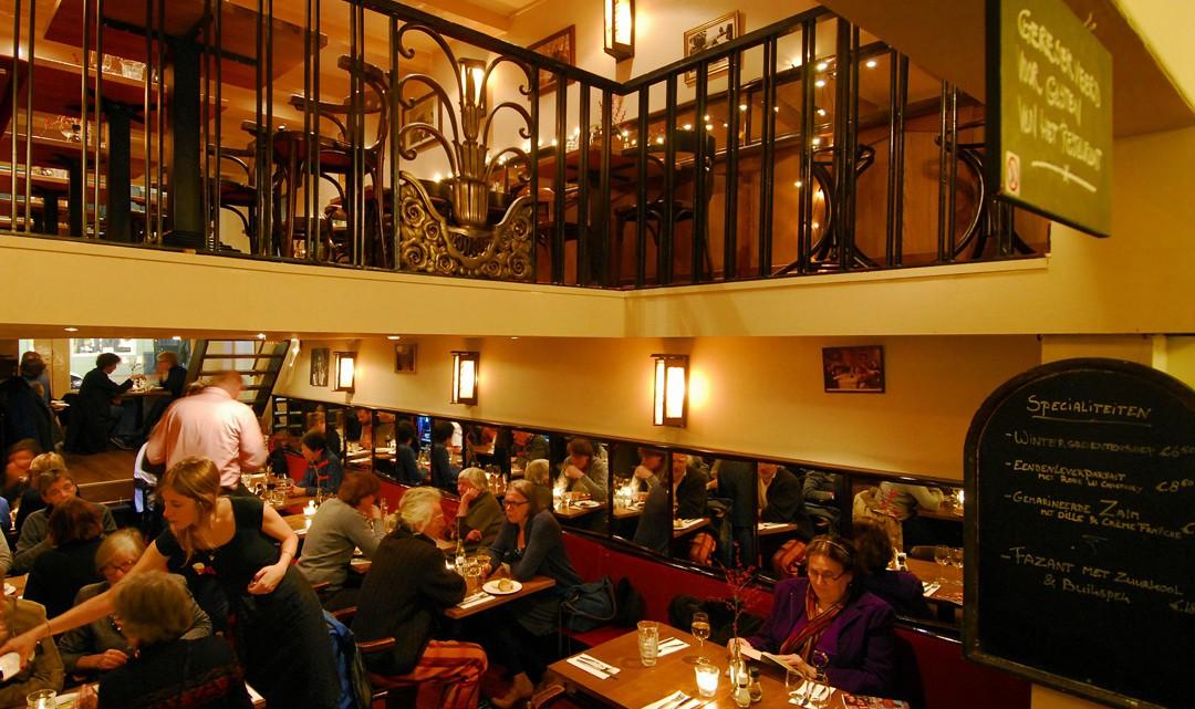 A full restaurant