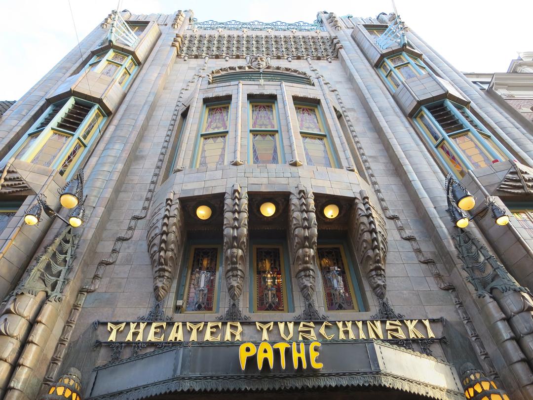 Cinema Path Tuschinski Oscar Worthy Art Deco Interior Conscious Travel G