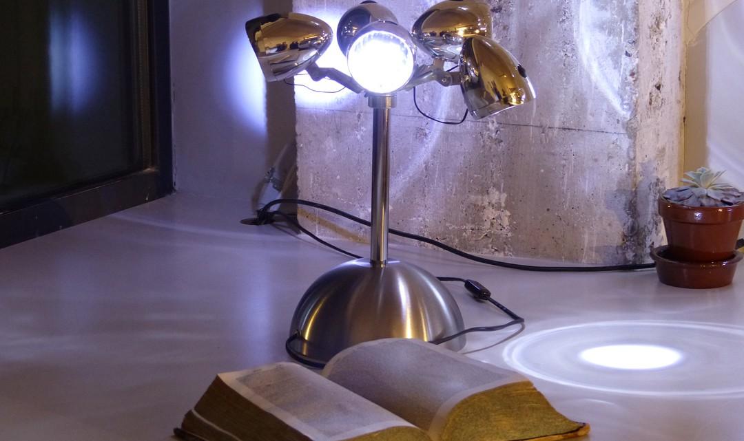 Bicycle lamps as bedlamp