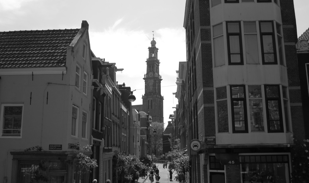 The Westertoren in Black & White