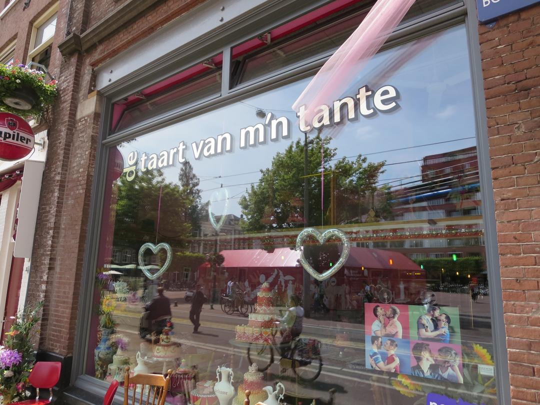 mijn taart shop De Taart van mijn Tante_Confection bakery shop window_Photo by  mijn taart shop