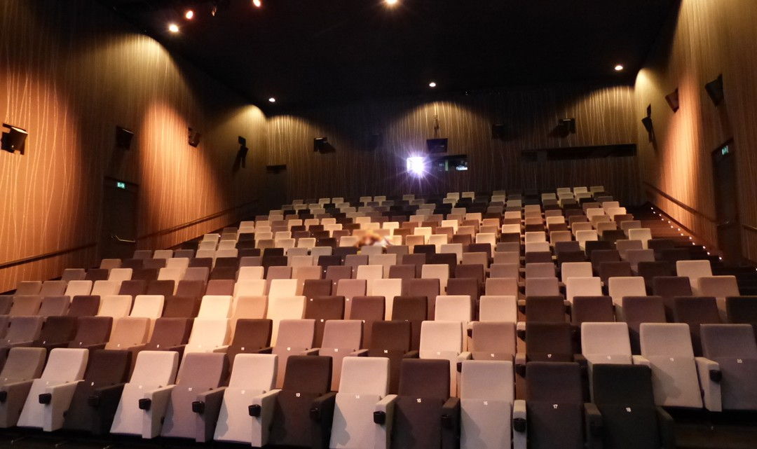 Interior of cinema 1