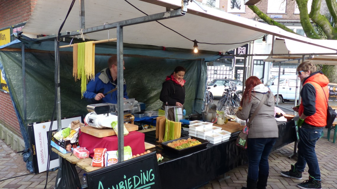 Eco Gastronomy stall on zuiderMRKT