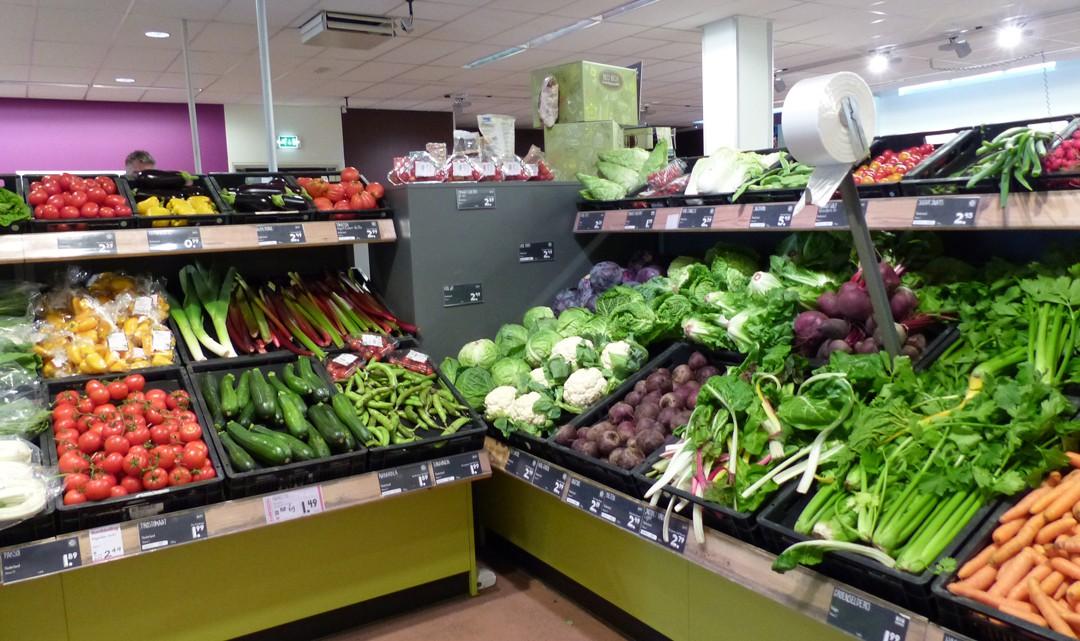 Vegetables corner