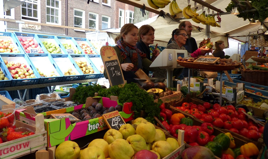 Local Food Markets In Amsterdam