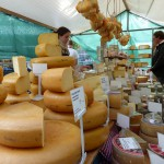Cheese market stall