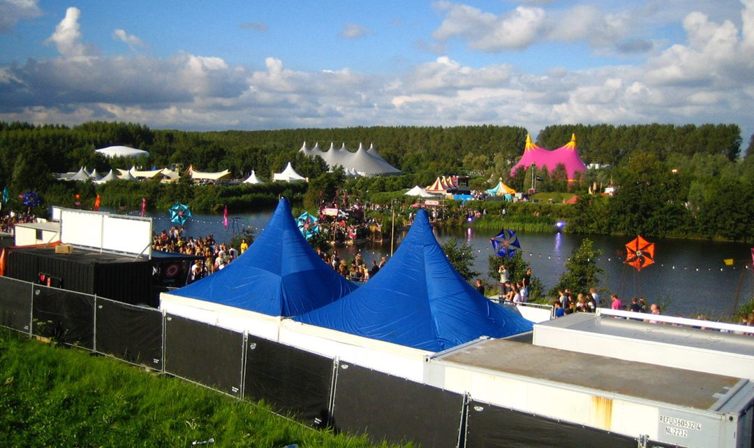 Overview of the festival terrain