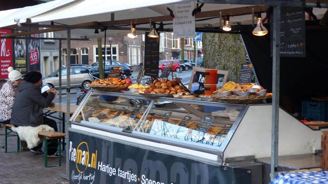 The stall of Pie Man on zuiderMRKT
