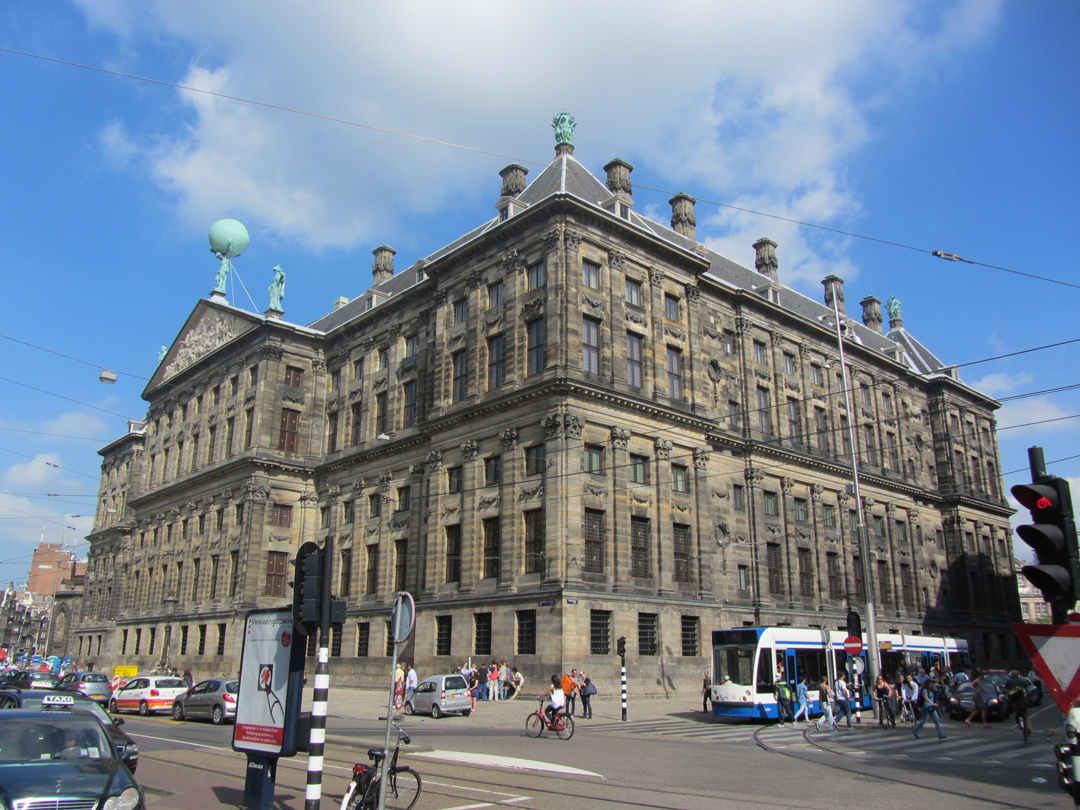 royal palace dam square as seen from back photo by conscious travel