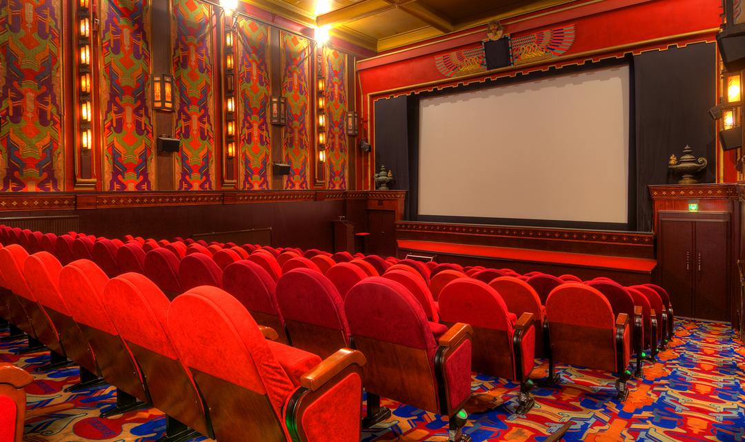 Art Deco interior of auditorium 1