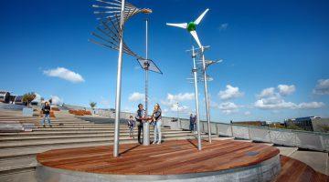 Windmills on rooftop NEMO